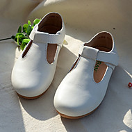 女の子 靴 PUレザー レザー 春 秋 コンフォートシューズ フラット 面ファスナー 用途 結婚式 カジュアル ドレスシューズ パーティー ブラック ホワイト レッド