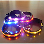 Dog Collar LED Lights Adjustable / Retractable Textile Plastic