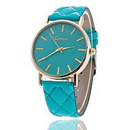 Xu™ نسائي ساعة المعصم كوارتز جلد اصطناعي أسود / الأبيض / بني ساعة كاجوال مماثل سيدات سحر موضة - أخضر زهري كاكي