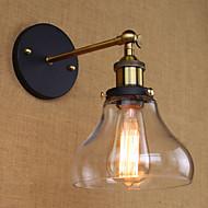 tanie Kinkiety Ścienne-AC 110-130 / AC 220-240 40 E26/E27 Wiejskie Złoty Cecha for Zawiera żarówkę,Światło rozproszone Kinkiety Ścienne Światło ścienne