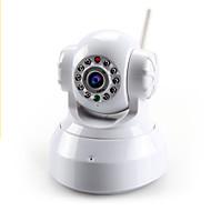 billige IP-kameraer-1.0 MP Innendørs with IR-kutt Dag Natt Primær 64GB(Dag Nat Bevegelsessensor Dobbeltstrømspumpe Fjernadgang Plug and play Wi-Fi Beskyttet