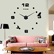 baratos Relógios de Parede-Relógio de parede - Casual Aço Inoxidável