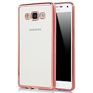 のために Samsung Galaxy ケース メッキ仕上げ / クリア ケース バックカバー ケース ソリッドカラー TPU Samsung A7(2016) / A5(2016) / A9 / A8 / A7 / A5