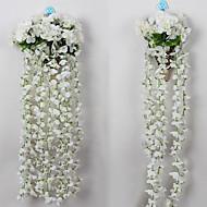 billige Kunstig Blomst-Kunstige blomster 1 Afdeling minimalistisk stil Hortensiaer Vægblomst