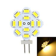 baratos Luzes LED de Dois Pinos-G4 Luminárias de LED  Duplo-Pin Encaixe Embutido 12 leds SMD 5730 Decorativa Branco Quente Branco Frio 200-300lm 3500/6500K DC 12 AC 12V