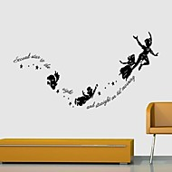 cheap Wall Stickers-People Animals Still Life Romance Fashion Shapes Holiday Vintage Fantasy Leisure Cartoon Wall Stickers 3D Wall Stickers Decorative Wall