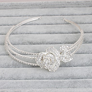 cheap Wedding Headpieces-Rhinestone Headbands 1 Wedding Special Occasion Casual Office & Career Outdoor Headpiece