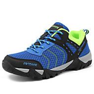 メンズ-アウトドア カジュアル アスレチック-チュールコンフォートシューズ カップルの靴-アスレチック・シューズ-オレンジ グレー ブルー