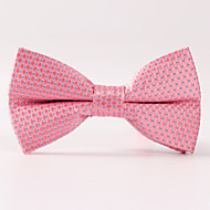 Polyester Bow Tie,Party/Evening Formal Style Grid Office/Business