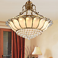 billige Taklamper-Takplafond ,  Traditionel / Klassisk Rustikk/ Hytte Messing Trekk for LED Metall Stue Soverom Spisestue