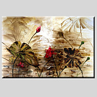 Håndmalte Abstrakte LandskapEuropeisk Stil / Moderne / Klassisk / Realisme / Parfymert Et Panel Lerret Hang malte oljemaleri For Hjem