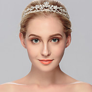 rhinestone tiaras hovedstykke bryllupsfest elegant feminin stil