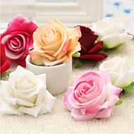 Kunstige blomster 1 Afdeling pastorale stil Roser Bordblomst