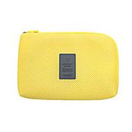 パスポート&IDホルダー 旅行かばんオーガナイザー 小物収納用バッグ のために クロス USBケーブル ナイロン / トラベル