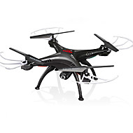Χαμηλού Κόστους SYMA®-RC Ρομποτάκι SYMA X5SW RTF 4 Kανάλια 6 άξονα 2,4 G Με κάμερα HD 0.3MP 480P Ελικόπτερο RC με τέσσερις έλικες FPV / Επιστροφή με ένα kουμπί