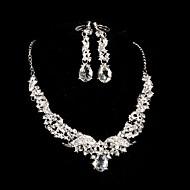 Dámské Šperky Imitace perly Slitina Párty Výročí Zásnuby Küpeler Náhrdelníky Kostýmní šperky