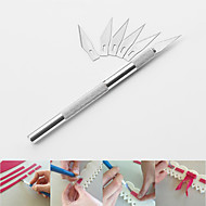 Fruit Sculpting Knife Carving Pastry Knife Cake Decorating Tools Mat Cutting Model