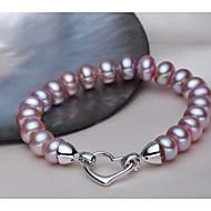 ユニセックスチェーンのブレスレット真珠のエレガントなクラシックな女性のスタイル