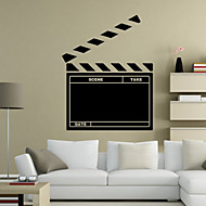 hesapli Office Basics-Manzara Romantizm Tebeşir Tahtası Moda Şekiller Tatil Sözler ve Alıntılar Karton Fantezi Duvar Etiketler Kara Tahta Duvar Stikerları