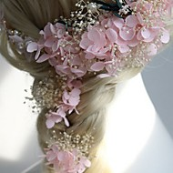 cheap Wedding Headpieces-Fabric Hair Pin 1 Wedding Special Occasion Casual Outdoor Headpiece