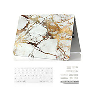 """tanie Akcesoria do MacBooka-3 w 1 przypadku marmuru full body + klawiatura + pokrywa kurz wtyczki dla MacBook Air 11 """"retina 13"""" / 15 """""""