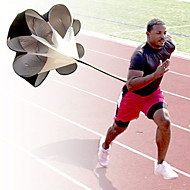 "1Pc Black 56"" Speed Resistance Training Exercise Parachute Umbrella Running Chute Outdoor"