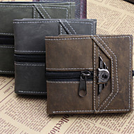 Unisex Women Bags Other Leather Type Wallet for Casual Sports All Seasons Gray Brown Light Green