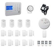 billiga Sensorer och larm-Home Alarm Systems GSM / TELEFON Plattform GSM / TELEFON Trådlöst Tangentbord / SMS / Telefon 433Hz för