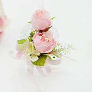 Wedding Flowers Free-form Roses Boutonnieres Wedding Party/ Evening Cotton