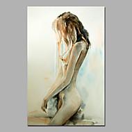 billiga Nude Art-Hang målad oljemålning HANDMÅLAD - Människor Moderna Stil Duk