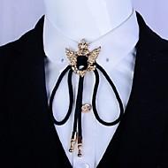 tanie Akcesoria dla mężczyzn-NaszyjnikVintage / Imprezowa / Na co dzień(Biżuteria pozłacana / Metal / Kryształ górski / Cyrkonia / Akryl)