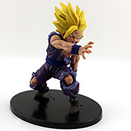 cheap Anime Cosplay-Anime Action Figures Inspired by Dragon Ball Son Gohan PVC 12 CM Model Toys Doll Toy