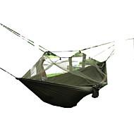 Hengekøye Fort Tørring Vindtett Støvtett Pusteevne Ultra Lett (UL) Myggvern Jakt Vandring Fisking Camping Reise Utendørs Høst Vår Sommer