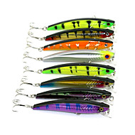 8 pcs Fishing Lures Minnow Hard Plastic Sinking Sea Fishing Freshwater Fishing Lure Fishing / General Fishing / Trolling & Boat Fishing