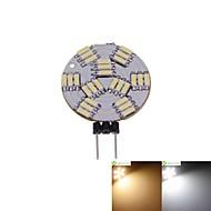 billige Spotlys med LED-SENCART 1pc 2 W 3000-3500/6000-6500 lm G4 LED-spotpærer MR11 27 LED perler SMD 4014 Mulighet for demping Varm hvit / Naturlig hvit 12 V / 5 stk. / RoHs