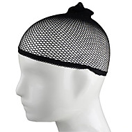 1pc snood rede elástica arrastão Cap peruca de cabelo elástico elástica malha tecelagem líquido perucas
