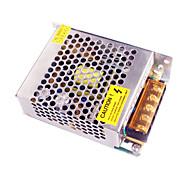 Høy kvalitet 12V 5A 60W konstant spenning AC / DC skift strømforsyning konverter (110-240V til 12V)