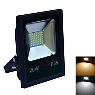 tanie Naświetlacze-1 szt. 20 W 6000-6500/3000-3200 lm 42 Koraliki LED SMD 2835 Wodoodporny Ciepła biel / Zimna biel 220-240 V