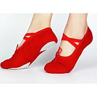 baratos Sapatilhas de Dança-Mulheres Sapatilhas de Balé Lona Sapatilha / Têni Cadarço Salto Personalizado Personalizável Sapatos de Dança Branco / Vermelho / Rosa / Ensaio / Prática
