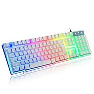 Kabel Multi barevné podsvícení 104 mechanické Keyboard Voděodolné podsvícený