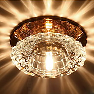 billige Taklamper-Takplafond Omgivelseslys Andre Krystall Krystall, LED 220-240V Varm Hvit Pære Inkludert / Integrert LED