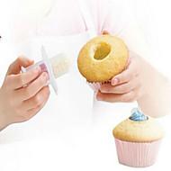 baratos Moldes para Bolos-muffin cupcake corer bolo buraco maker pastelaria bolo decoração
