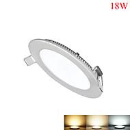 billige belysning Tilbehør-1550-1700lm Panellys 90pcs LED perler SMD 2835 Mulighet for demping Dekorativ Varm hvit Kjølig hvit Naturlig hvit 85-265V