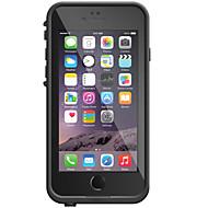 billiga Mobil cases & Skärmskydd-fodral Till iPhone 6s Plus iPhone 6 Plus iPhone 6s iPhone 6 iPhone 6 iPhone 6 Plus Vattenavvisande Dammtät Stötsäker Fodral Enfärgad Hårt