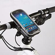 ROSWHEEL Brašna na řídítka Mobilní telefon Bag 4.8 palec Voděodolný zip Nositelný Odolný proti vlhkosti Odolné vůči šokům Dotyková