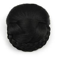kinky krøllete svart yrke menneskelige hår blonder parykker chignons 2