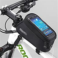 ROSWHEEL Vesker til sykkelramme Mobilveske 4.2 tommers Vanntett Glidelås Anvendelig Fukt-sikker Støtsikker Berøringsskjerm Sykling til