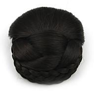 kinky krøllete svart yrke menneskelige hår blonder parykker chignons 2/33