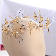 billiga Brudhuvudbonader-Tyg / Legering pannband med Blomma 1st Bröllop / Speciellt Tillfälle Hårbonad