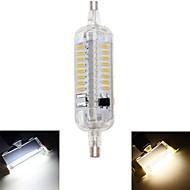 billige Kornpærer med LED-1pc 4 W 350-400 lm R7S LED-kornpærer T 76 LED perler SMD 4014 Vanntett / Dekorativ Varm hvit / Kjølig hvit 220-240 V / 1 stk. / RoHs